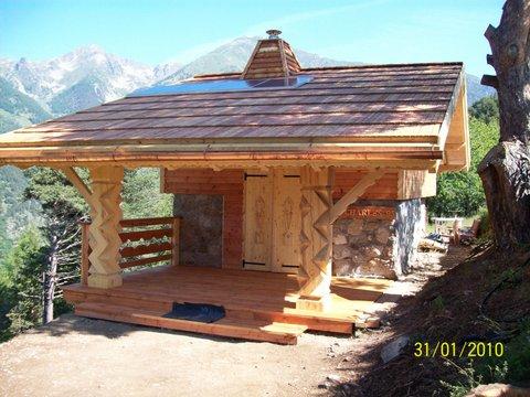 Nos r alisations esprit chalet for Prix construction chalet bois montagne