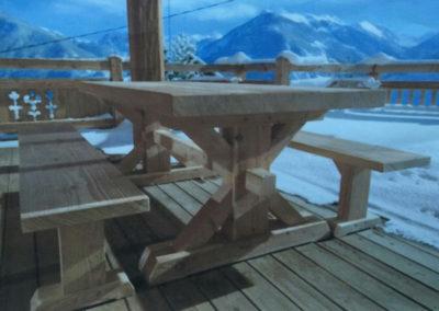 table-montagne-bois-massif